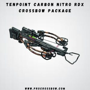Tenpoint Carbon Nitro RX - Best for Tiger hunting