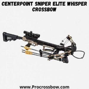 CenterPoint Sniper Elite Whisper Crossbow