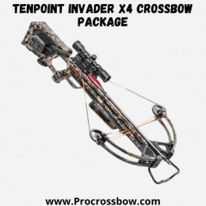 TenPoint Invader X4 Crossbow Package