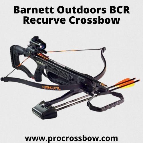 Barnett Outdoors BCR Recurve Crossbow