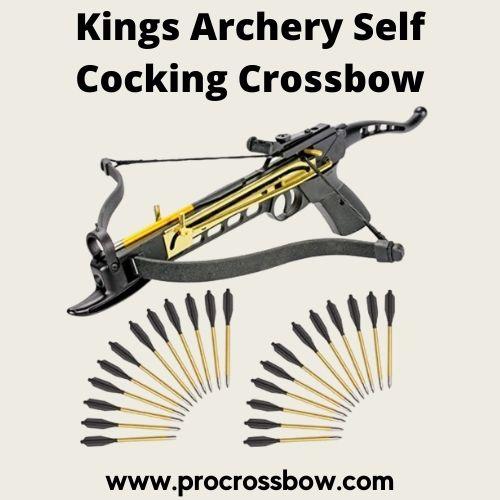 Kings Archery Self Cocking Crossbow