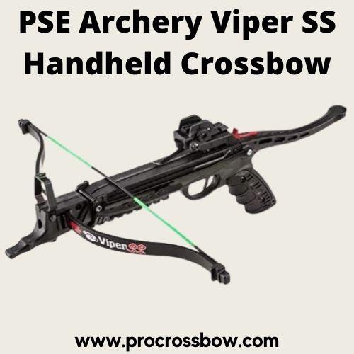 PSE Archery Viper SS Handheld Crossbow