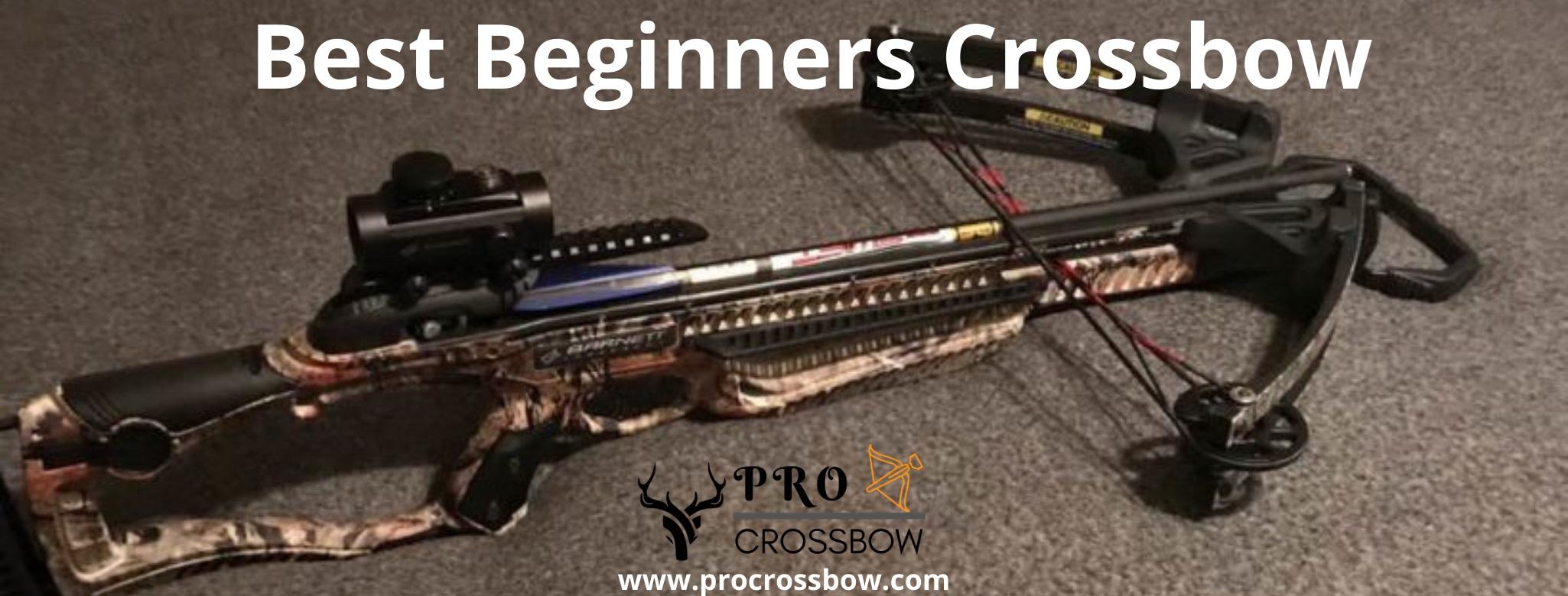 best beginners crossbow