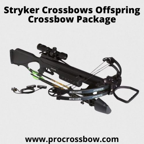 Stryker Crossbows Offspring Crossbow Package