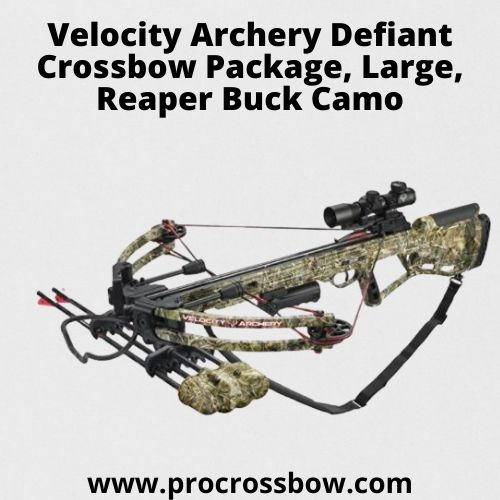 Velocity Archery Defiant Crossbow Package