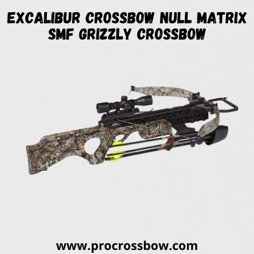 EXCALIBUR CROSSBOW Null Matrix SMF Grizzly Crossbow