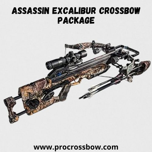 Assassin Excalibur Crossbow Package