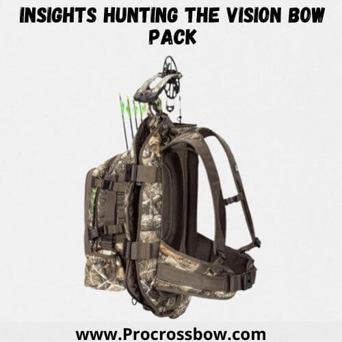 INSIGHTS Hunting The Vision Bow Pack