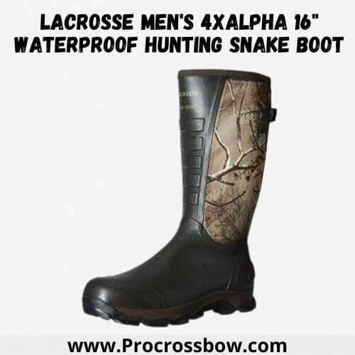 LaCrosse Men's 4xAlpha 16 Waterproof Hunting Snake Boot