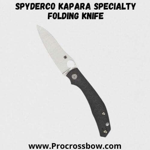 Spyderco Kapara Specialty Folding Knife