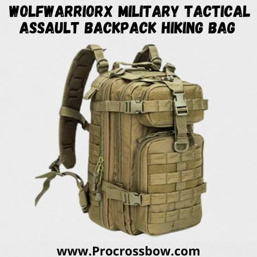 WolfWarriorX Small 30L Military Tactical Assault Backpack Hiking Bag