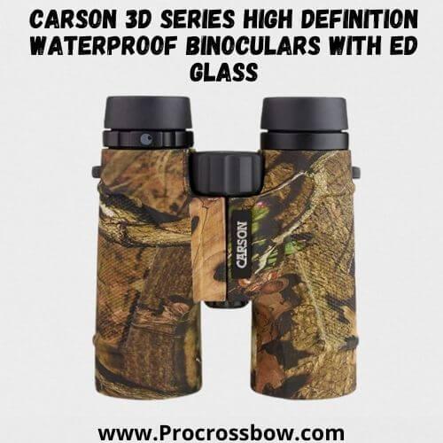 Carson 3D Series High Definition Waterproof Binoculars with ED Glass
