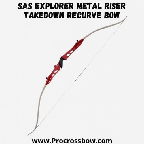 Southland Archery Supply SAS Explorer Metal Riser Takedown Recurve Bow